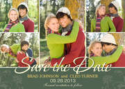 Nature's Love Date -  Photo Save the Date Cards