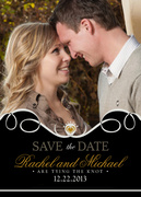 Our Love Date - Save the Date Photo Cards