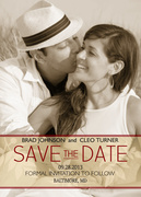 Photo Save the Date Cards - Fresh & Modern Date