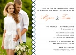 Sophisticate Band -  Engagement Party Invites