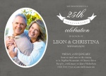 Banner Years - Anniversary Invitations