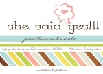 Just Yes Date - Save the Date Cards