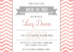 Sweet Taffy Shower -  Hen Night Invitations
