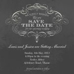 Grand & Glorious Date - Save the Date Cards