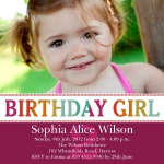 Birthday Berry - kids party invitations