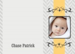 Ornamental Son - Baby Thank You Cards