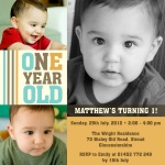 Just One! - kids party invitations