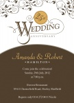 Perfect Anniversary -  Wedding Anniversary Invitations