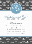 Elegant Engagement -  Engagement Party Invites