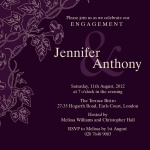 Heliotrope Honeys - Engagement Party Invitations