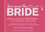 Blushing Pink - Hen Party Invitations