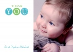 Circle Boy - Baby Thank You Cards