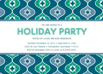Holiday Party Invitations, Pop Art Party Design