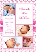Divine Girl - Baby Girl Announcements