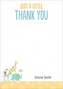 Animal Crackers -  Thank You Notes