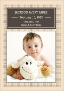 Tartan Fellow -  Birth Announcements for Boys