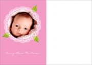 Baby Thank You Notes - Baby Rosey