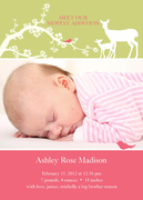 Nature's Sweetest - Baby Girl Announcements