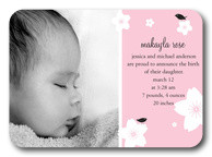Beautiful Baby -  Birth Announcements for Girls
