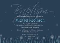 Blue Baptism Blooms