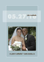 Wedding Date Pastel