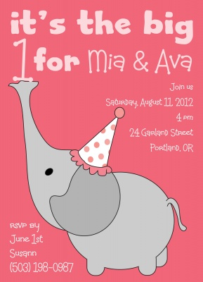Kids Birthday Invitations, Their Big Day Design