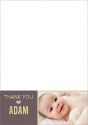 Balloon Basket - Baby Thank You Cards
