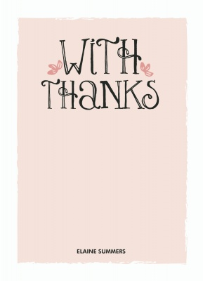 Baby Shower Thank You Cards, Pretty Pink Design