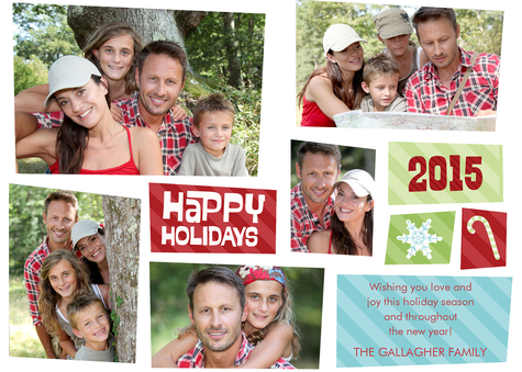Personalized Holiday Cards, Holiday Delights Design