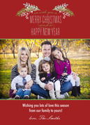 Crimson Pine -  Christmas cards