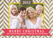 christmas cards - Stripe Song Christmas