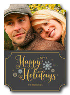 holiday photo cards - Love Frame Holiday