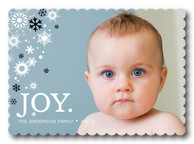 Snow Joy - Baby Christmas Cards