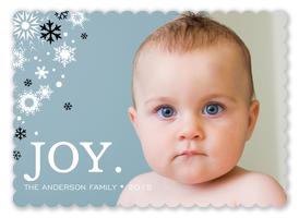 Snow Joy - Baby Christmas Cards