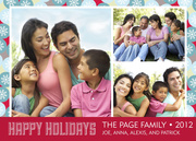holiday cards - Let's Get Happy!