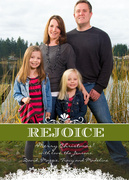 Classic Rejoice -  Christmas cards