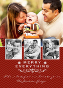 holiday photo cards - Everything Song