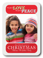 photo Christmas cards - We Wish You