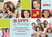 Holly Berries - holiday photo cards