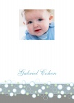 Mister Blue Boy - Baby Shower Thank You Cards