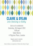 Dripping Diamonds - 	Baby Shower Invitations for Couples