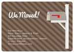 Striped Post -  New Address Cards