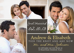 Silver Block-Share your nuptial news with beautiful Wedding Announcements from Simply to Impress! Choose from our wide variety of designs today.