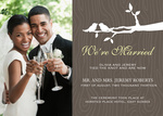 Wedding Nest-Share your nuptial news with beautiful Wedding Announcements from Simply to Impress! Choose from our wide variety of designs today.