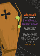 Halloween Invitations - Knock Knock