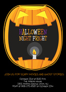Night Fright - Halloween Invitations
