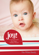Vermillion Reasons -  Baby Holiday Cards
