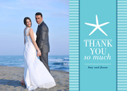 Sea Star Thanks - Wedding Announcements