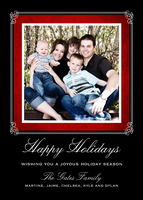 Holiday Frame Onyx