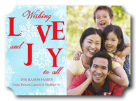 Joyous Love - holiday photo cards